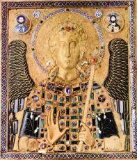 Икона Михаил Архангел (копия 10 века)