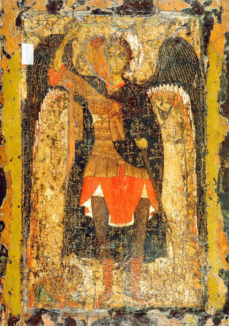 Икона Михаил Архангел (копия 13 века)