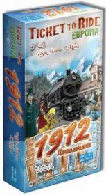 Настольная игра Билет на поезд: Европа 1912 (Ticket to Ride: Europa 1912)
