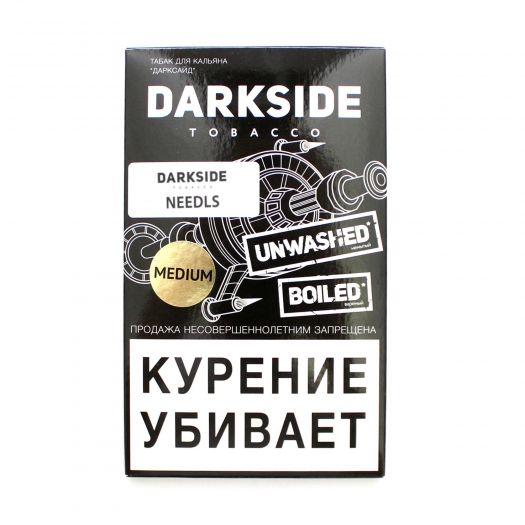 Табак для кальяна Dark Side Medium Needls