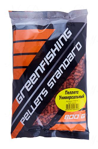 Пеллетс GREENFISHING Универсальная, вес 800 гр
