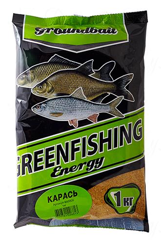 Прикормка GREENFISHING Energy Карась (Лето), вес 1 кг