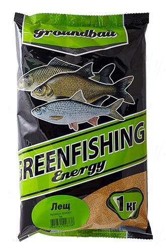 Прикормка GREENFISHING Energy Лещ (Лето), вес 1 кг