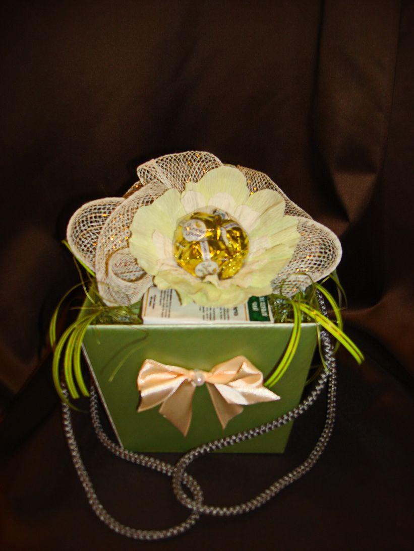 Весеннее чаепитие - подарочный набор с чаем и конфетами