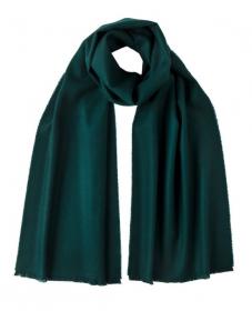 стильный шарф 100% шерсть мериноса,  расцветка Малахит  Tartan Green , средняя плотность 4