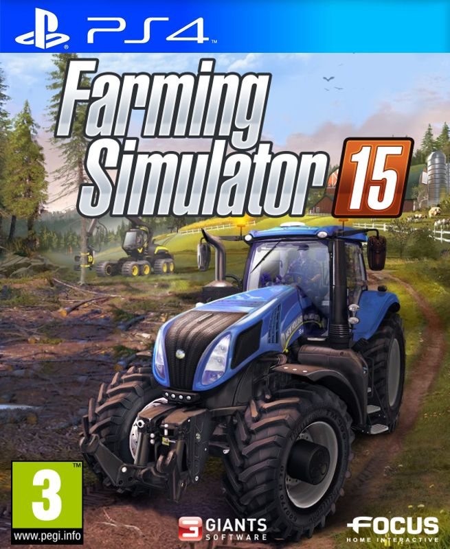 Игра Farming Simulator 15 (PS4)