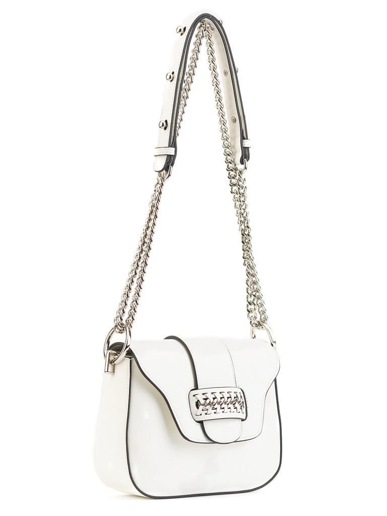 358ac9a31272 Белая сумочка через плечо Labbra L-A185 Белый