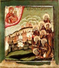 Даниил Шужгорский (копия иконы 18 века)