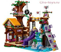 Конструктор LEPIN The Girl Спортивный лагерь Дом на дереве 01047 (Аналог LEGO Friends 41122) 784 дет