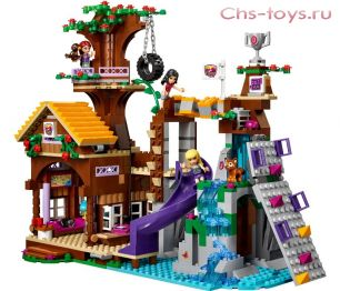 Конструктор LEPIN The Girl Спортивный лагерь Дом на дереве 01047 (Аналог LEGO Friends 41122) 784 дет
