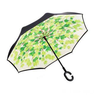 Зонт Наоборот, Зелёные листья