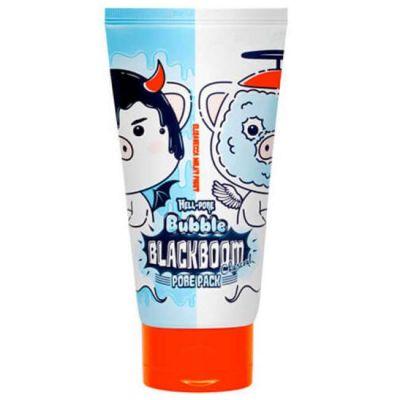 Hell-Pore Маска кислородная для очищения пор Hell-Pore Bubble blackboom pore pack 150мл