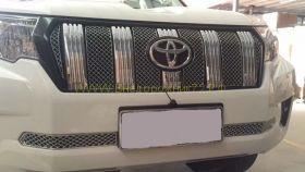 Решетка радиатора (Вставки) Тип 1  для Toyota Land Cruiser Prado 150 2017-