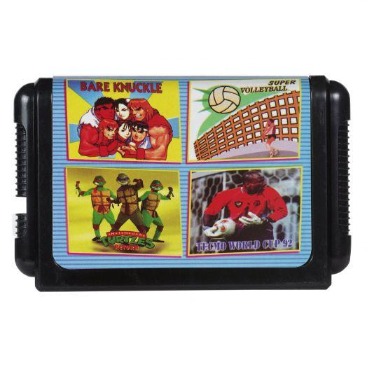 Sega картридж 4 в 1 КС-427