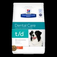 Hill's PD Canine t/d Dental Health Диетический корм при заболеваниях полости рта (3 кг)