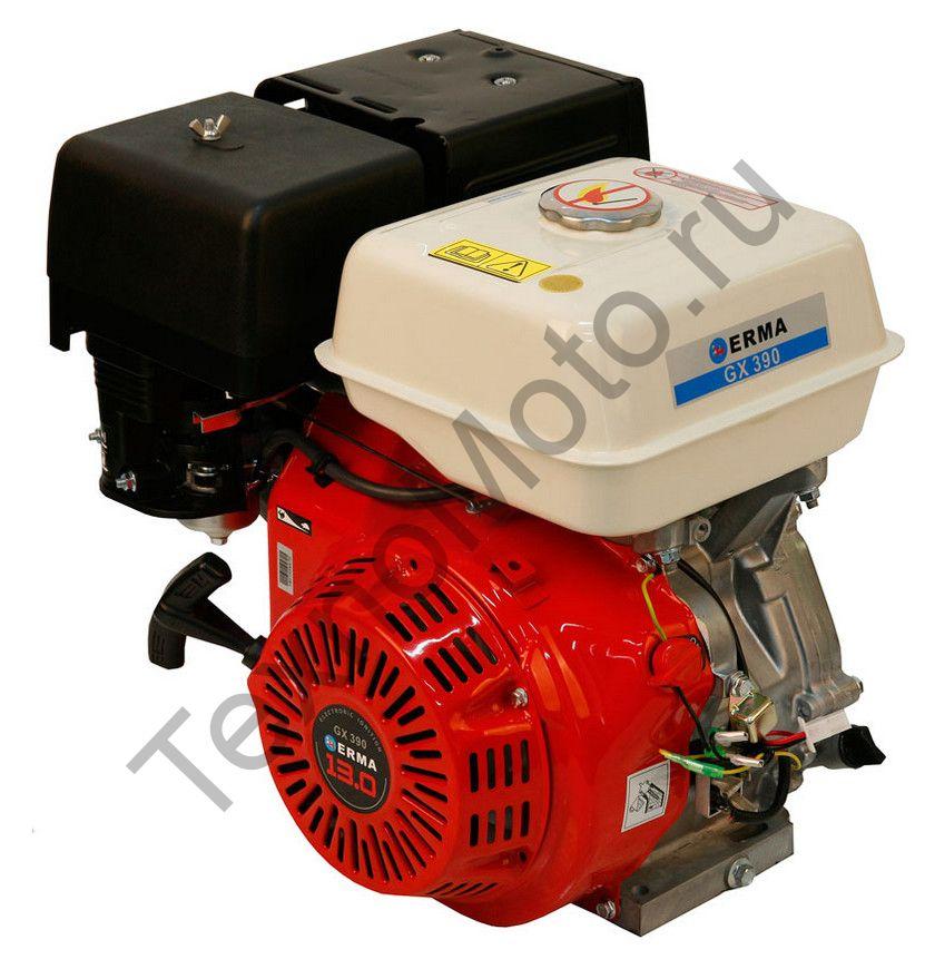 Двигатель Erma Power GX390 D25(13 л. с.) катушка освещения 60Вт, аналог Honda GX390