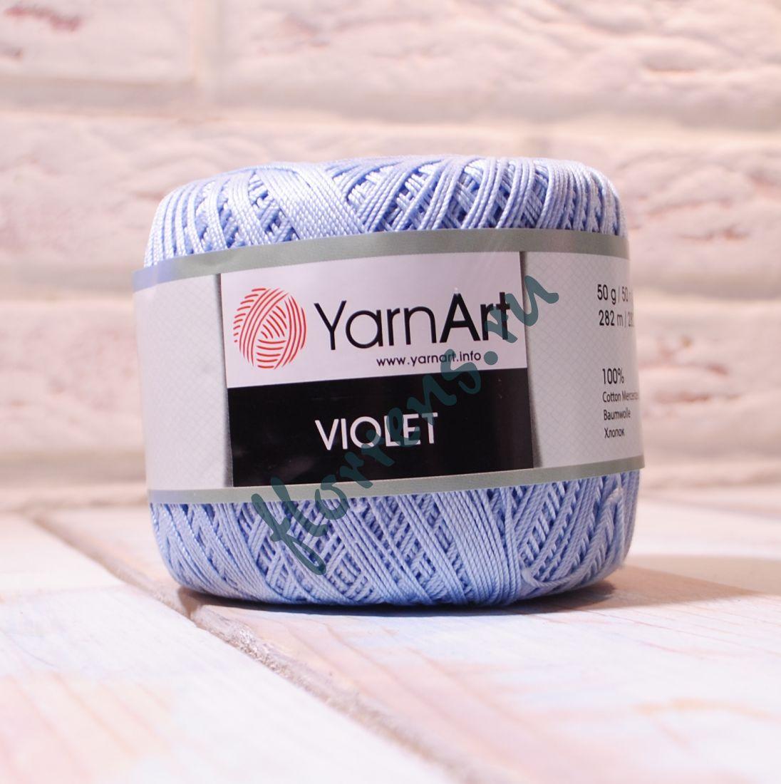 Пряжа YarnArt Violet / 4917 нежно-голубой