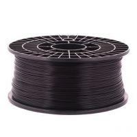 PLA пластик для 3D принтера Ø1.75 черный 1 кг