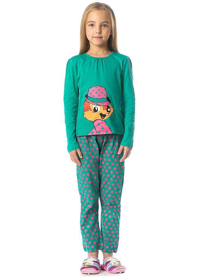 Зеленая пижама Чип и Дейл