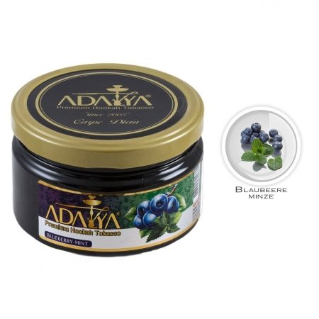 Табак для кальяна Adalya Blueberry with Mint (Черника с мятой)