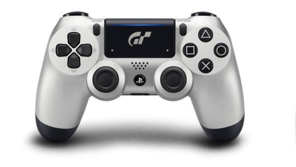 Sony DualShock 4 Gran Turismo Sport (CUH-ZCT2) серебро