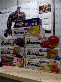 Батончики BOMBBAR 20 гр белка в ассортименте