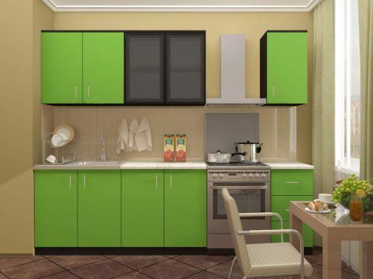 Кухня Катя 2,0 (лайм)