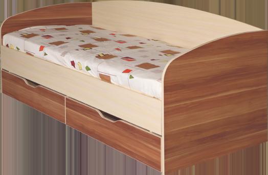 Кровать Евро №16 с ящиком с основанием