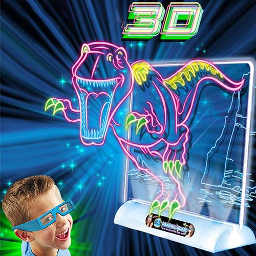 Игровой набор MAGIC DRAWING BOARD 3D ДИНОЗАВРЫ