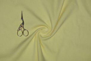 Нежно-желтый кашкорсе с лайкрой