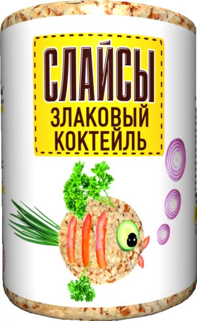 Слайсы Злаковый коктейль 100гр*16