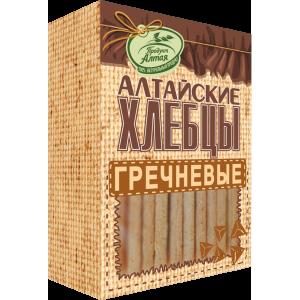 Хлебцы Алтайские Гречневые 75гр*16
