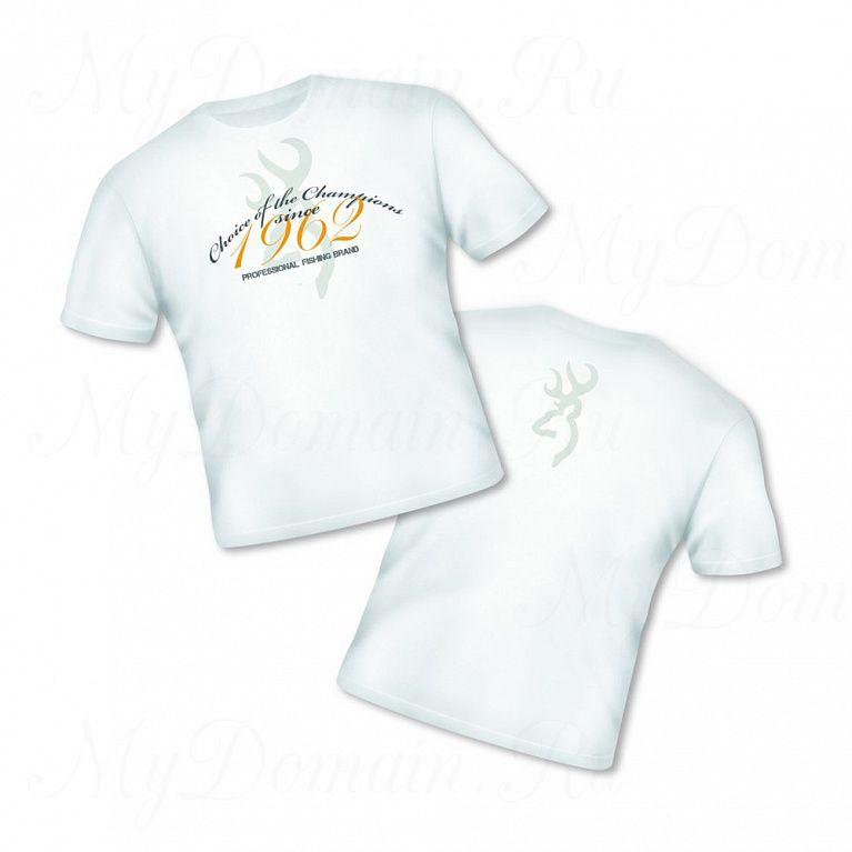 Футболка Browning Т-Shirt Classic белая размер L