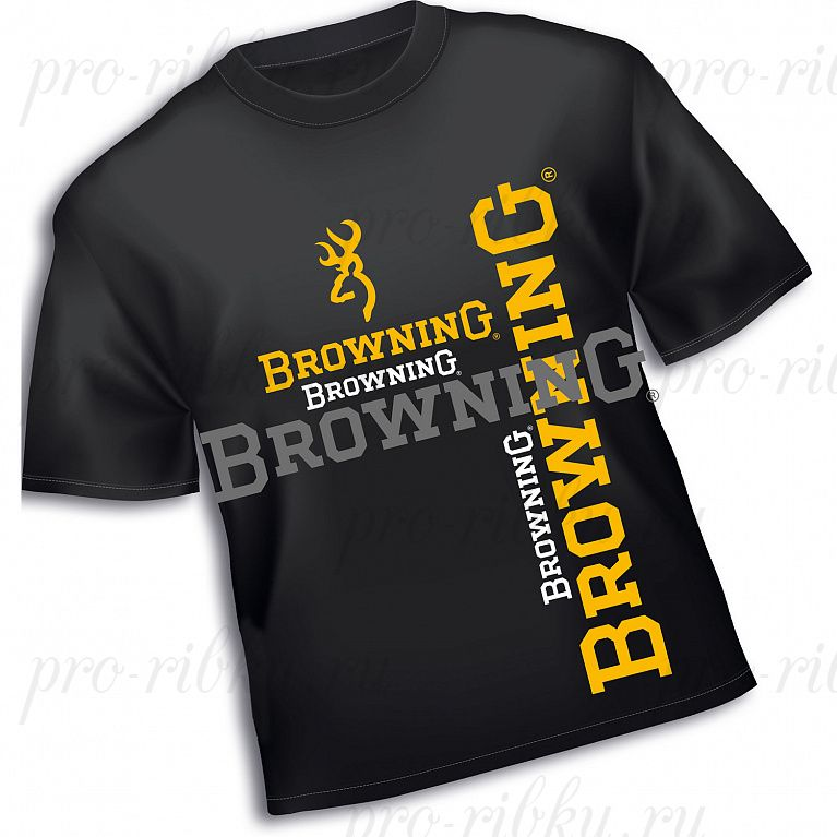 Футболка Browning черная размер XХXL