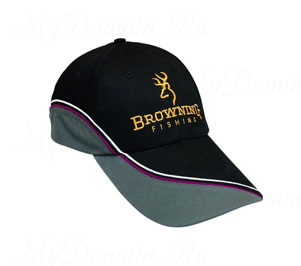 Кепка Browning черная/серая