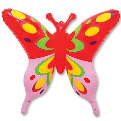 Игрушка надувная Бабочка, 58 см, 12 шт.