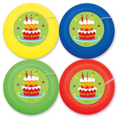 Йо-йо на веревке Торт Birthday 4шт