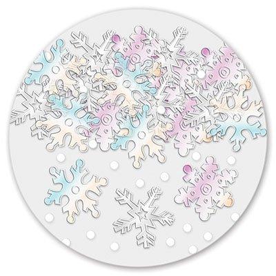 Конфетти Снежинки перл 14гр, 1 шт.