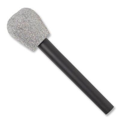 Микрофон пластик блеск, 1 шт.
