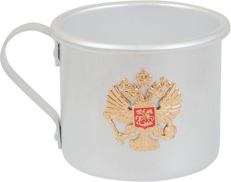 Кружка алюминиевая Герб России