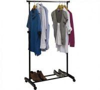 Напольная передвижная стойка для одежды SINGLE-POLE TELESCOPIC CLOTHES RACK (1)