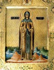 Икона Зоя Вифлеемская (копия старинной)