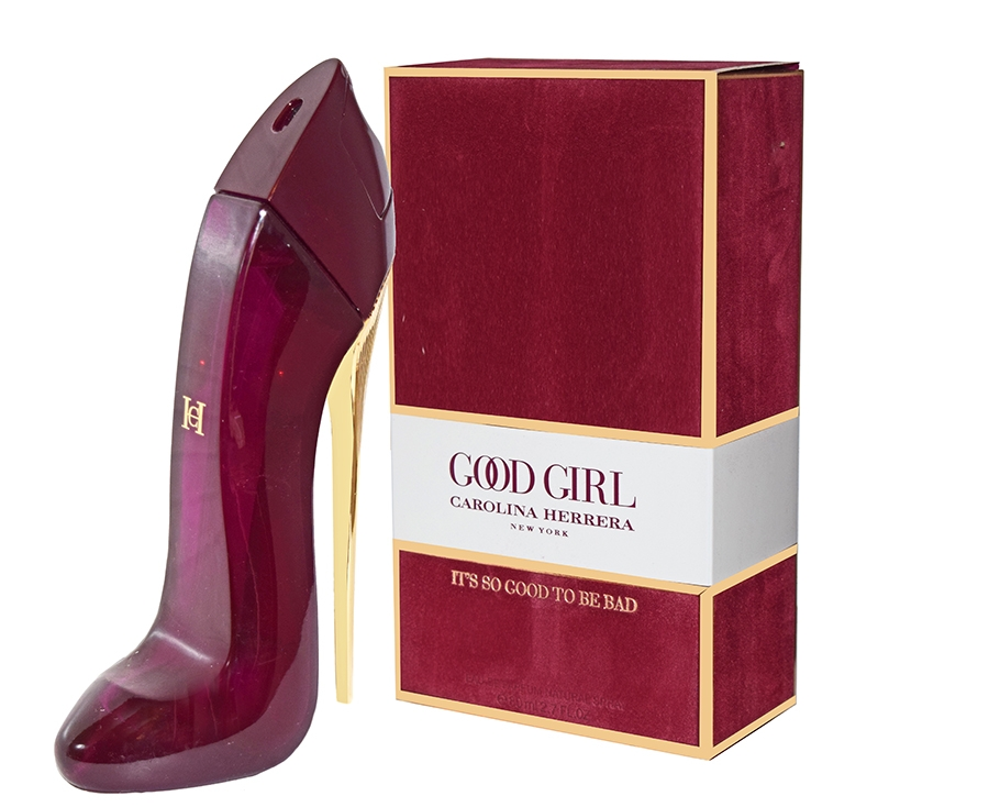 CAROLINA HERRERA GOOD GIRL RED, EDP 80 ML (БАРХАТ)