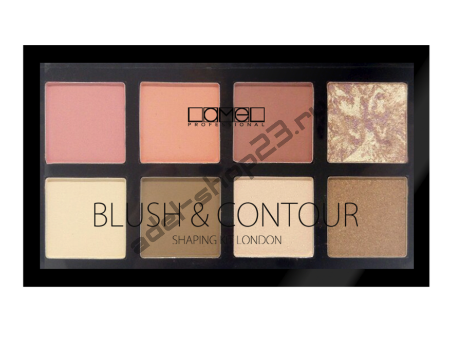 Lamel - Набор для макияжа Professional Blush&Contour