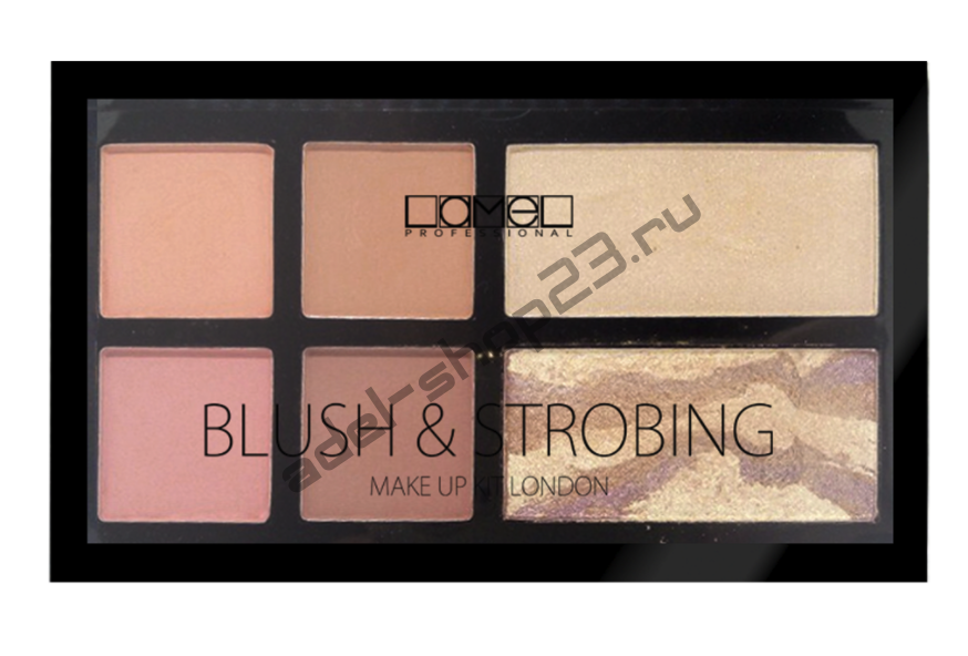 Lamel - Набор для макияжа Blush&Strobing