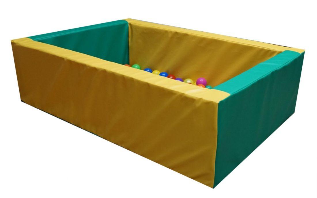"""Детский сухой бассейн """"Таити"""",  прямоугольный 1,5х1м"""