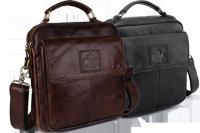 Стильная мужская кожаная сумка CANADA (К)