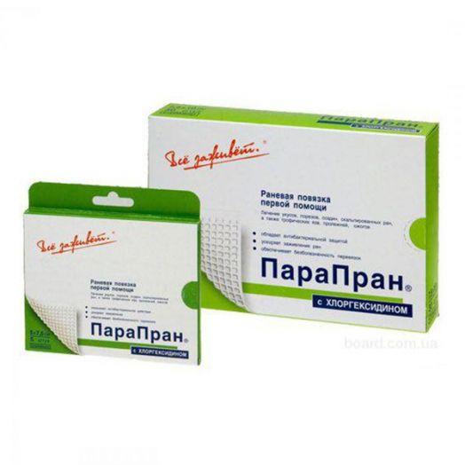 "Повязка ""ПараПран"" с хлоргексидином 10 х 25 см"