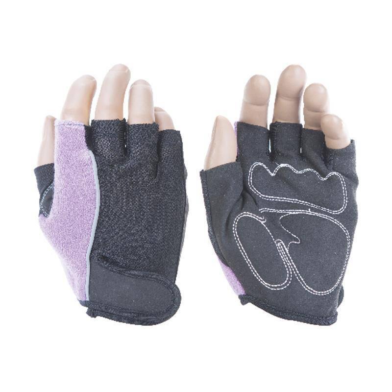 Перчатки атлетические INDIGO 97852 IR (микрофибра, полиэстер)