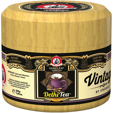 Табак для кальяна Starbuzz Vintage - Delhi Tea (Делийский чай)
